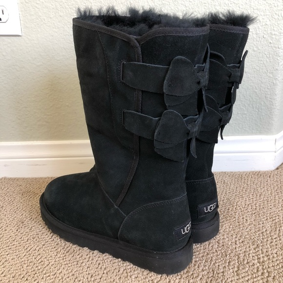 8704fe43758 Uggs Australia Ugg Allegra Bow Tall Boots Boot